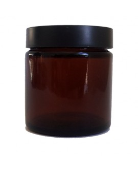 Stekleni lonček Amber 120ml