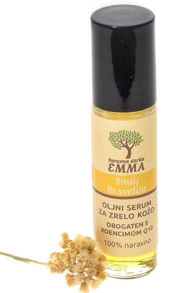 Oljni serum za zrelo kožo SMILJ (IMMORTELLE) - KADILNA BOSVELIJA