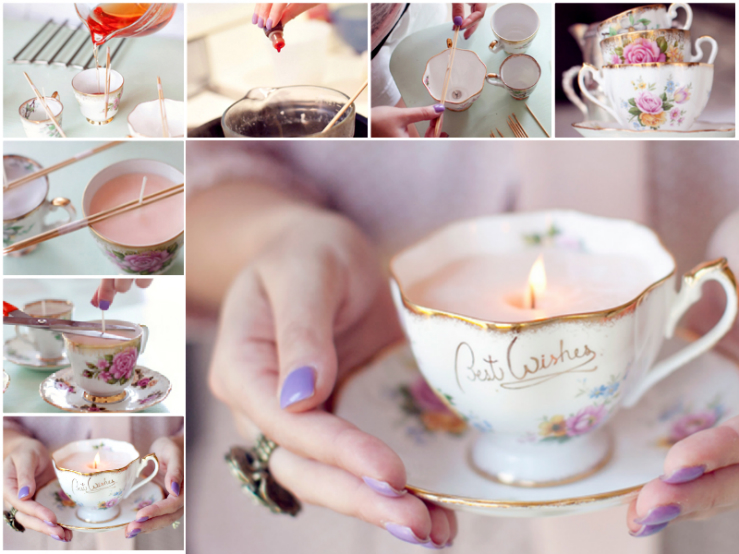 Unikatne dišeče svečke EMMA