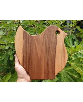 Lesena deska ŽELEZNIKI (ptiček veseliček)