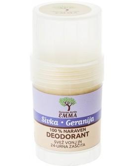100% naraven dezodorant SIVKA - GERANIJA 30g