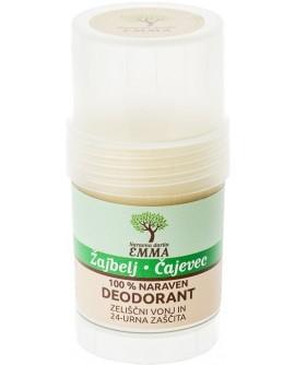 100% naraven dezodorant ŽAJBELJ - ČAJEVEC 30g