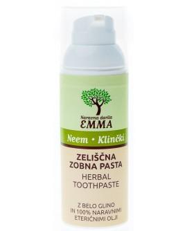 Zeliščna zobna pasta NEEM - KLINČKI 90g