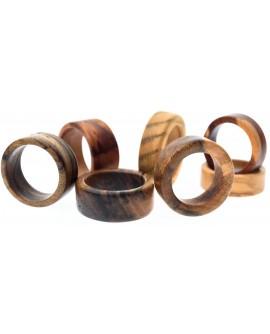 Unikatni leseni prstani