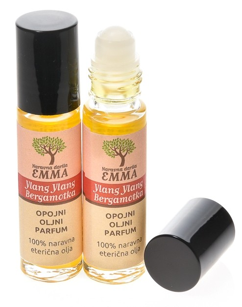 Opojni oljni parfum YLANG YLANG - BERGAMOTKA