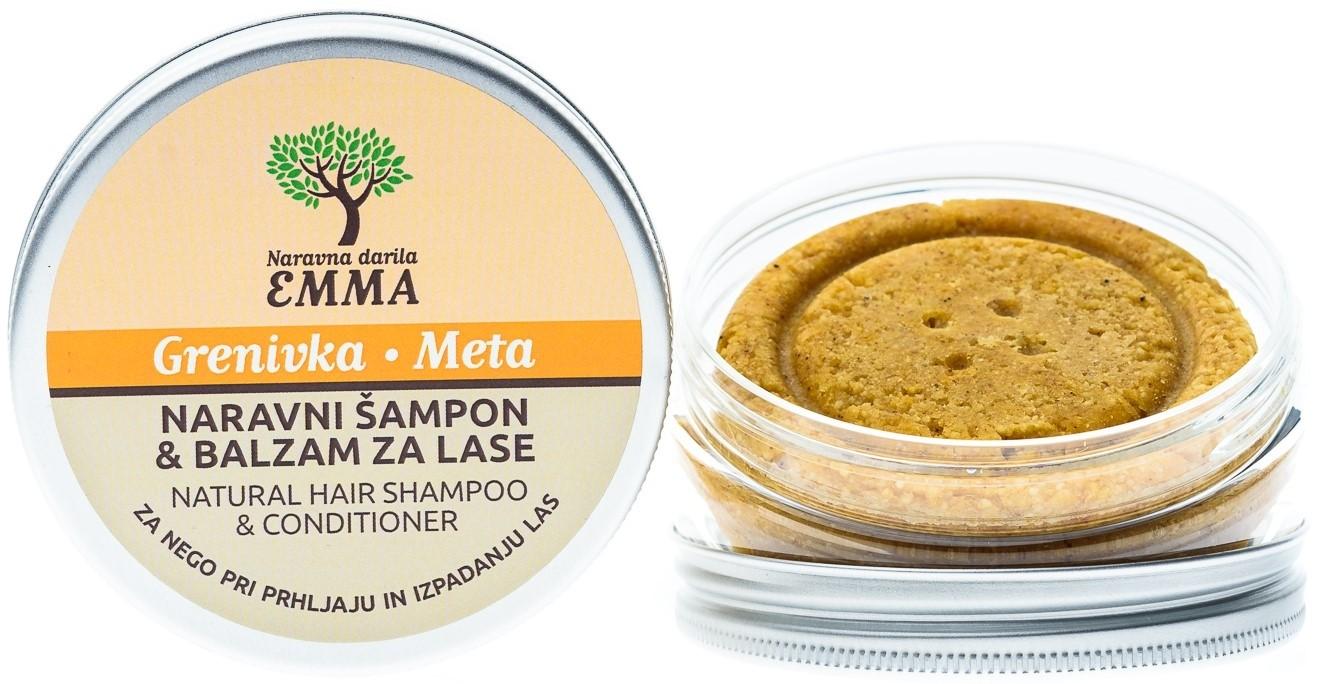 Zeliščni šampon in balzam za lase GRENIVKA - META