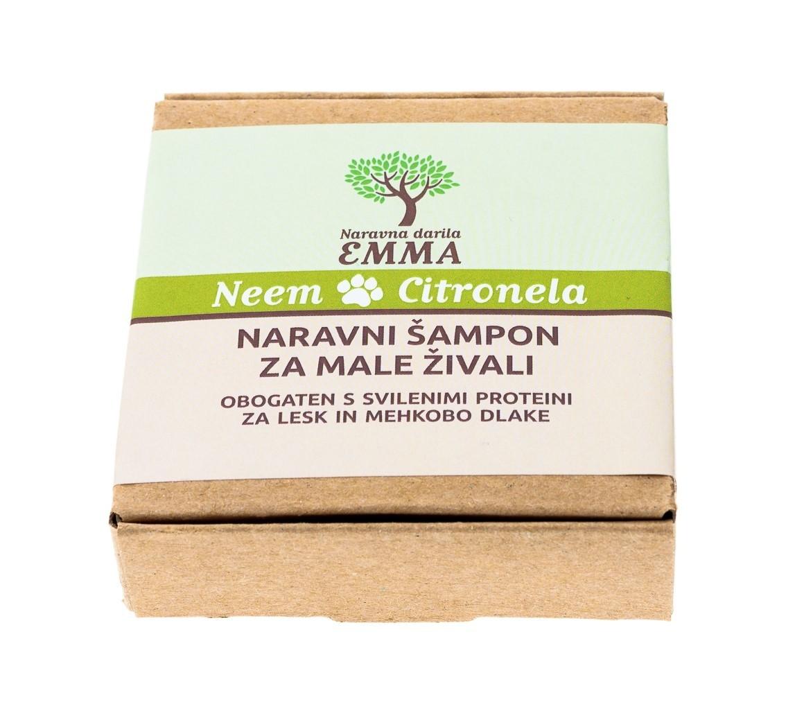 Naravni šampon za male živali