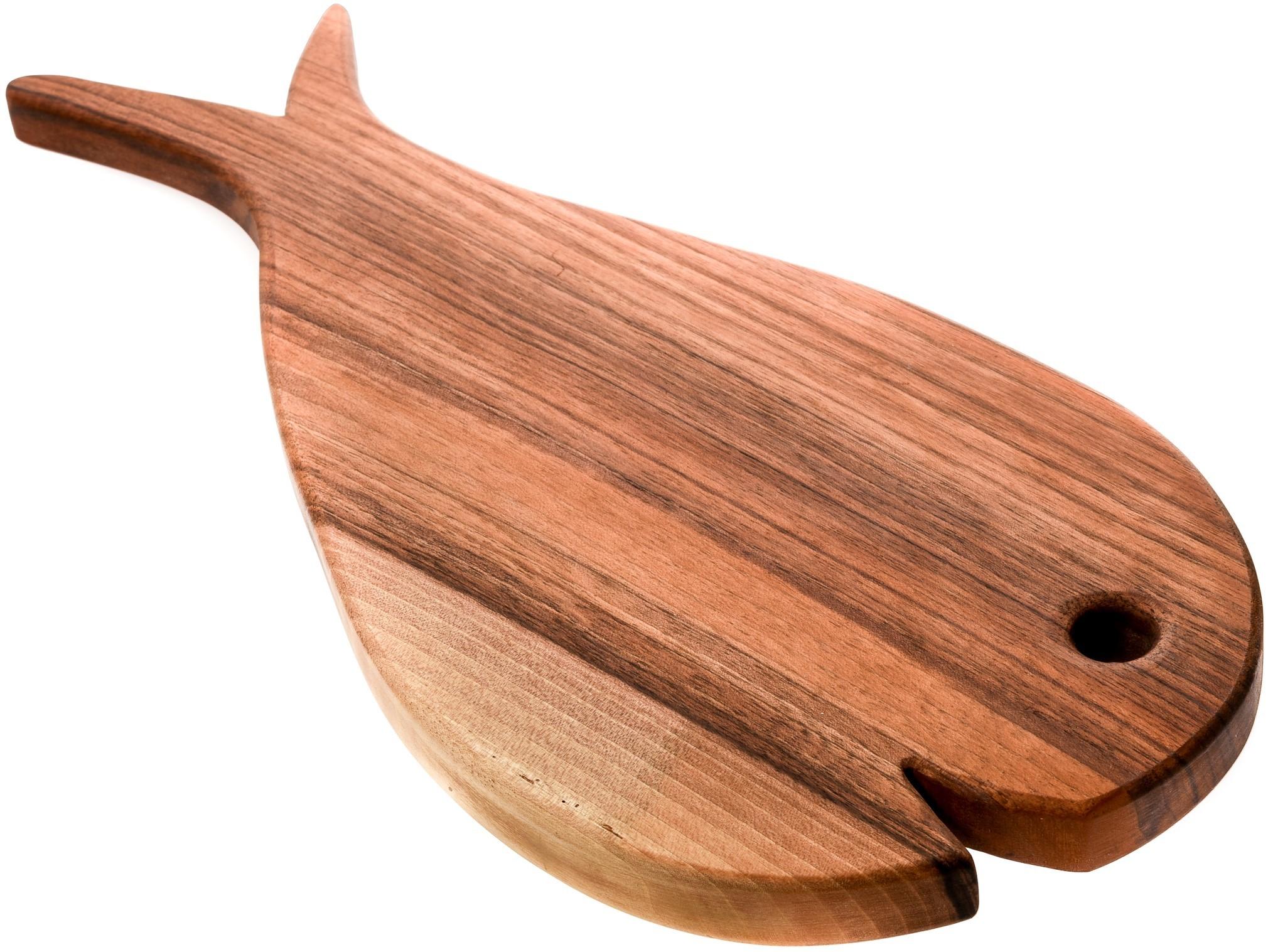Lesena deska PORTOROŽ (riba - velika)
